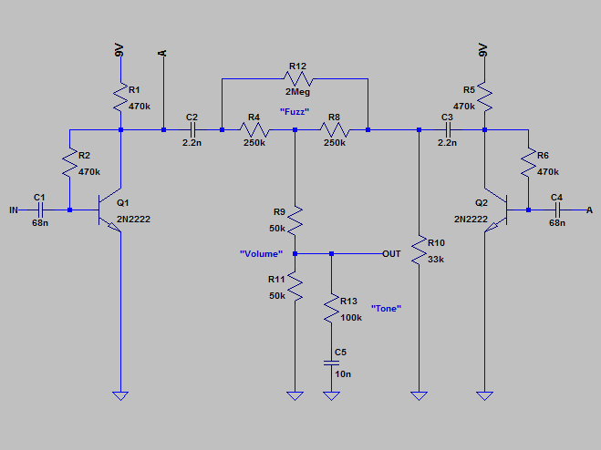 fuzz rite schematic with mods